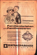 save money and you receive a loan - savings bank advertising 1962