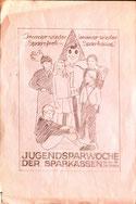 Plakat-Entwurf Sparefroh. Immer wieder, immer wieder Sparefroh, Sparkasse (um 1972).