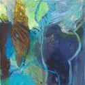 Mondlicht 2009 20 x 20 cm Öl / Leinwand