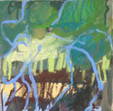 Tra 2009 20 x 20 cm Öl / Leinwand