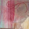 rot 2009 20 x 20 cm Mischtechnik / Leinwand / Holz