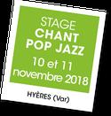 Stage chant Pop Jazz, A vous de jouer
