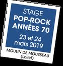 Stage Pop Rock Années 70, A vous de jouer 2018