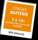 Stage de Batterie avec Gilles Combalat, A vous de jouer