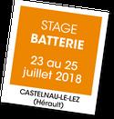 Stage de Batterie