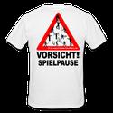 T-Shirt hinten bedruckt (2.-€ Provision)