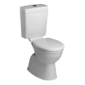 Assisted Living Cara Loft Link Toilet Suite, WELS 4 star rating, 4.5/3L