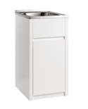 Laundry Tubs with PVC Waterproof Cabinets