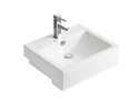 K2250B Square Semi Recessed Basin 520x420x160mm
