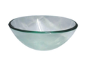 QG08A Round Clear Glass Vessel