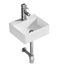 K342 Compact Square Wall Hung Basin 330×290×120mm