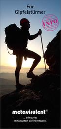 Das Open Window Phänomen im Bergsport Patientenflyer