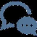 bulles de dialogue, communication