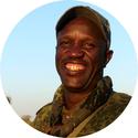 Portrait Teilnehmer Antiwilderer-Training Eben Narabeb