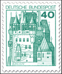 40 Pf-Briefmarke