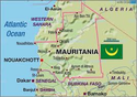 In Richtung Mauretanien