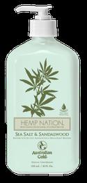 Seasalt & Sandlewood Original Hemp Nation Australian Gold Zonnebank creme bronzer zoncosmetica DHA cosmetisch natuurlijk Aftersun Huidverzorging