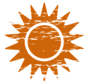 Das Symbol für das Element Sonne vom Weingut 70469 Stuttgart