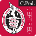 the C.Ped certification logo