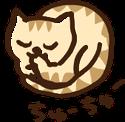 ペットホテルの猫マーク