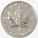 PT1000 純プラチナ カナダ メイプルリーフ コイン