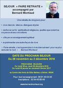 retraite spirituel avec Bernard MONTAUD - agenda du bien-etre en touraine - via energetica