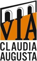 Logo der Via Claudia Augusta.