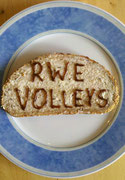 Das RWE Volleys Butterbrot.