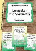 Übungen deutsche drammatik, Präpositionen, vier Fälle, Wortarten üben