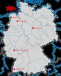 Nachweise des Balkansteinschmätzers in Deutschland