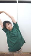 肩こりのストレッチ脇1-③