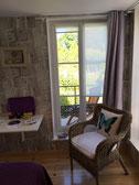 """Studio avec terrasse privative """"Le Jardinet"""" au rez-de-chaussée, côté jardin"""