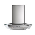 Arc Glass Canopy Rangehood Curved Glass - 60cm AAG6SE1