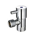 Quarter 1/4 Turn Mini Pin Lever Toilet Cistern Cock Tap with brass handles