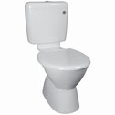 Mode Deluxe Plastic Link Toilet Suite, WELS 4 star rating, 4.5/3L