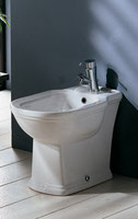 Washington Floor Mount Bidet - White