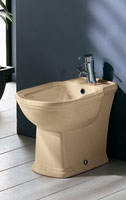 Washington Floor Mount Ivory Bidet