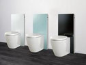 Exposed Slimline Cistern - White, Green, Black