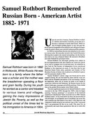 Samuel Rothbort, Page 1