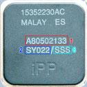 """Intel Pentium Ceramic """"Black Cap"""""""