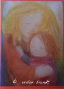 035 Engel umarmt Mädchen*