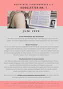 Newsletter MusikInsel Finkenwerder e.V. Sommer 2020 Seite 1