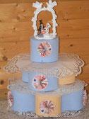 Geldgeschenke zur Hochzeit: Torte