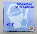 Spielbuch Babybuch Softbuch Nähanfänger Anleitung Nähanleitung Babybuch