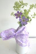 Stoffe cotton flower