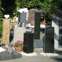 Stelen, Stehende Steine, Grabmalgestaltung