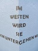 Westen-Skulptur-Kunstwerk von künstlerstein.de Mathias Rüffert