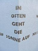 Osten-Skulptur-Kunstwerk von künstlerstein.de Mathias Rüffert