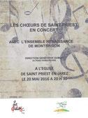 Concert 20 mai 2016