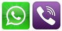Kontakt mit WhatsApp und Viber  / www.taxizermatt.ch